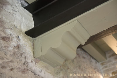 Authentiek houten balken plafond