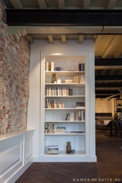 Klassiek model boekenkast