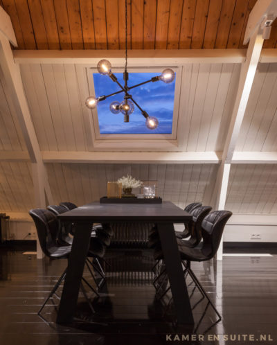 Houten plafond interieurinspiratie
