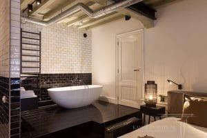 Open badkamer modern ontwerp